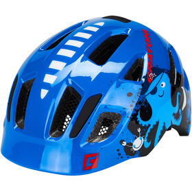 Cratoni Maxster Casque Enfant, pirate/blue gloss